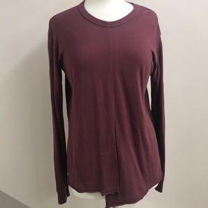 Wilt cotton burgundy top small